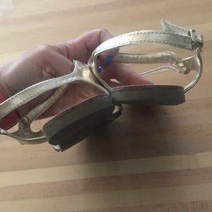 Steve Madden Shoes - Steve Madden gold sandals